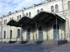 Крыльцо Варшавского вокзала